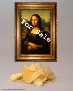 Selling Art and Potato Chips Have a Lot More In Common Than You Might Think!
