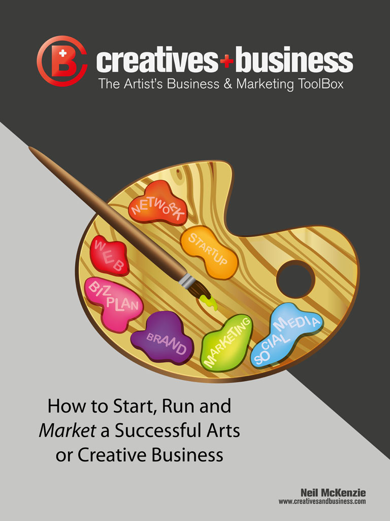 Business Book Cover Art : Buy the book art marketing and business by neil mckenzie
