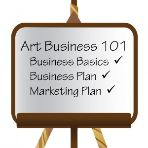 If you are serious about your art business you need some business Moxy!