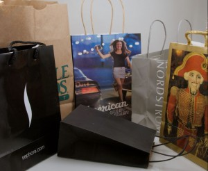 Bags are an effective way to package and serve as a means of advertising