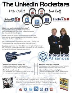 IAOneSheet 8.5x11 JPG 232x300 My Interview with Linkedin Rockstars Lori Ruff and Mike ONeil   Linkedin for Artists