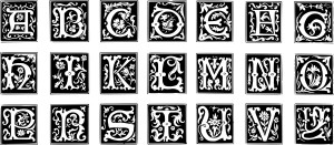 Creatives and Business image of wood block type letter set