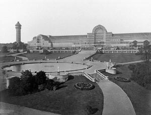 Cyrstal Palace Hyde Park, London 1954
