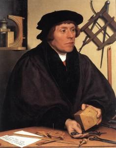 Painting of man making